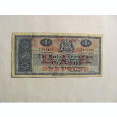 Pound 01 Iulie 1963 THE BRITISH LINEN BANK of SCOTLAND / Scotia / Marea Britanie