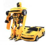 Cumpara ieftin Masina Transformers Robot cu telecomanda
