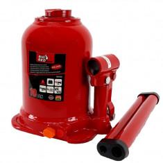 Cric hidraulic tip butelie 10 tone cu cilindru dublu