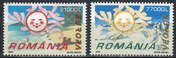 Romania 2004, Europa Vacanta, LP 1638, MNH