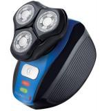 Aparat de ras Remington Flex 360 XR1400, Acumulator Litiu, 3 capete, 100% rezistent la apa, Tehnologie HyperFlex (Negru/Albastru)