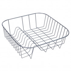Suport metalic pentru vase, 34 x 34 cm, Gri