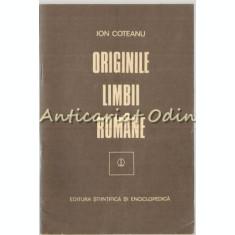Originile Limbii Romane - Ion Coteanu