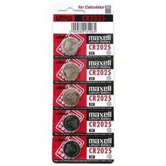 Baterie cr2025 blister 5 buc maxel