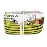 Furtun pentru gradina Verve, 50 m x 12.5 mm, 24 bar, plastic, Verde, General