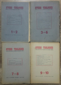 Studii teologice, revista institutelor teologice// 1950, nr 1-10, complet