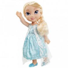 Papusa Disney Frozen Elsa cu rochie noua