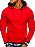 Hanorac bărbați roșu Bolf 145369