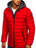Cumpara ieftin Geacă de iarnă sport bărbați roșie Bolf JP1102