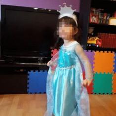 Rochie rochita printesa Elsa NOUA 3 sau 4  ani