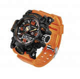Ceas barbatesc sport Sanda army orange