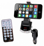 Modulator FM Akai FMT-8118BT, suport telefon, USB, AUX, Bluetooth