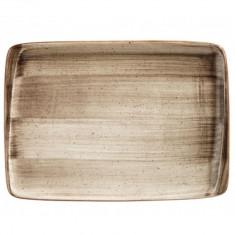 Platou dreptunghiular din portelan, 23x16cm, Bonna Terrain, 010142