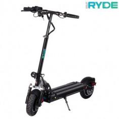 Trotineta electrica pliabila RYDE 500 - seria 10inch, Viteza maxima 45 Km/h, Autonomie 25-30 Km/h, Putere motor 500 W (Negru)
