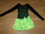 Costum carnaval serbare rochie dans pentru copii de 11-12 ani, 10-11 ani, Din imagine