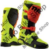 MBS Cizme motocross Thor Radial, galben/portocaliu, 43, Cod Produs: 34102264PE