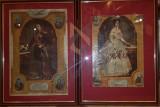 LITOGRAFII (Doua), ALEXANDRU IOAN CUZA si DOAMNA ELENA CUZA, 1909, Turnu Severin