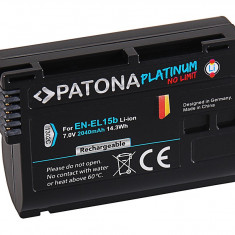 PATONA Platinum | Acumulator tip Nikon EN-EL15B EN EL15 b ENEL15B