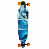 Longboard Surfer Blue 42
