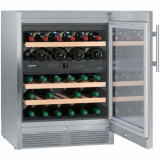 Vitrina frigorifica Liebherr Premium WTes 1672, 95 l, 5 rafturi, Inox
