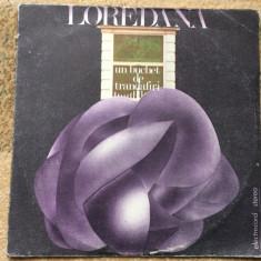 loredana groza un buchet de trandafiri album disc vinyl lp muzica pop usoara