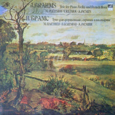 J. Brahms - Trio for piano, violin and french horn (Vinil)