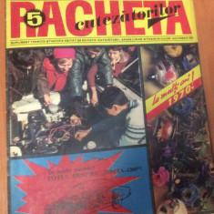 RACHETA CUTEZATORILOR  Nr 5  ( Anul 3  ) Mai 1971