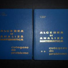 N. DONCIU, D. FLONDOR - ALGEBRA SI ANALIZA MATEMATICA. CULEGERE DE PROBLEME