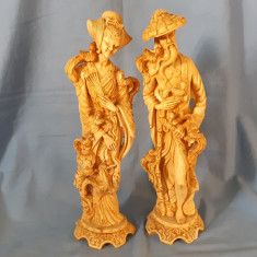 Set statuete China 38 cm inaltime