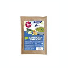 Supa Instant de Praz si Cartofi Fara Sare Bio 18gr Pleniday Cod: 3460340300128
