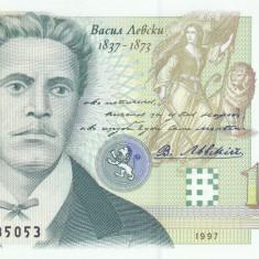 Bancnota Bulgaria 1.000 Leva 1997 - P110 UNC