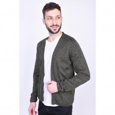 Cardigan Jack&Jones Jorholden Knit Forest Night, L, Khaki