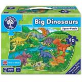 Puzzle de podea Dinozauri (50 piese) BIG DINOSAURS, orchard toys