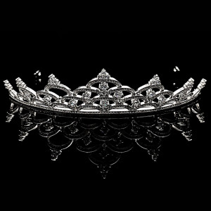 Tiara placata cu Aur 18K si Diamante, Elisabeth