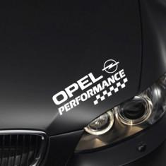 Sticker Performance - OPEL