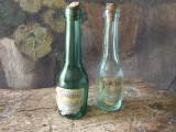Vechi lot de sticle cu eticheta Frectie Galenica Fabrica de Medicamente Galenica