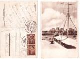 Constanta 1946 - In port, ilustrata circulata