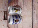 Vând halbe de bere Bavaria din ceramică din 1976.