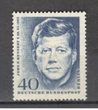 Berlin.1964 1 an moarte J.F.Kennedy-presedinte  SB.766, Nestampilat