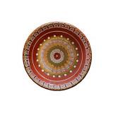 Farfurie, ceramica, lut, 30cm, 016307,