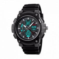 Ceas Barbatesc SKMEI CS898, curea silicon, digital watch, Functii- alarma, ora, cadran luminat, rezistent 3ATM