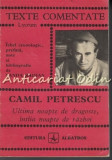 Ultima Noapte De Dragoste Intiia Noapte De Razboi - Camil Petrescu