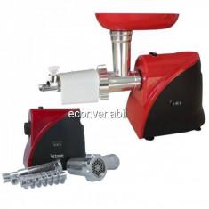 Masina Electrica Tocat Carne cu Accesoriu Rosii 1200W Victronic MG233