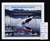 1992 Fauna din Regiunile Nordice Bl. 278 LP 1301 MNH, Sport, Nestampilat