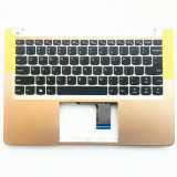 Carcasa superioara cu tastatura palmrest, Laptop, Lenovo 710S-13, 710S-13IKB, iluminata