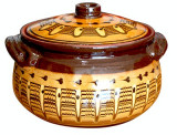 Oala ceramica,lut 3l Devon