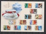 Definitive Stemps,Timbre ,Hong Kong China 2012., Nestampilat