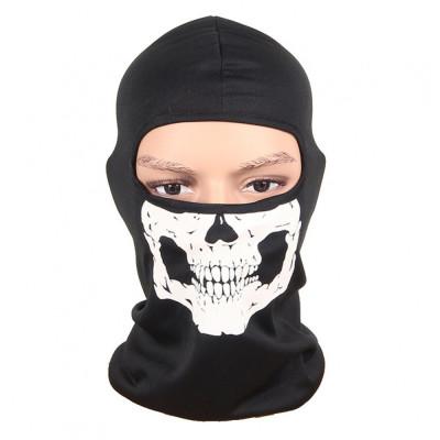 Cagula SKULL masca gat fata urechi protectie vant si frig pt ski bicicleta motor foto