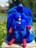 Ghiozdan plus personalizat Captain America