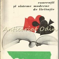 Bridge. Conventii si Sisteme Moderne De Licitatie - Nicu Kantar, Dan Dimitrescu